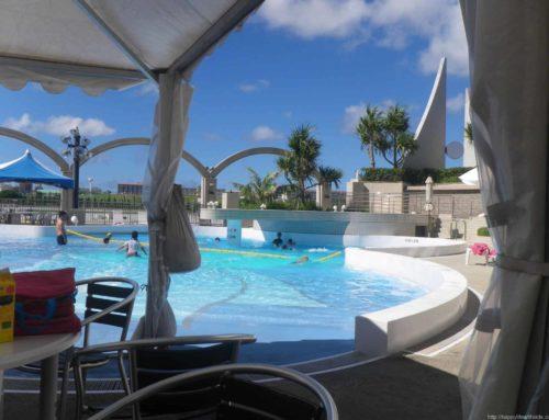 2013夏 格安沖縄旅行:ロワジールホテル那覇のプール
