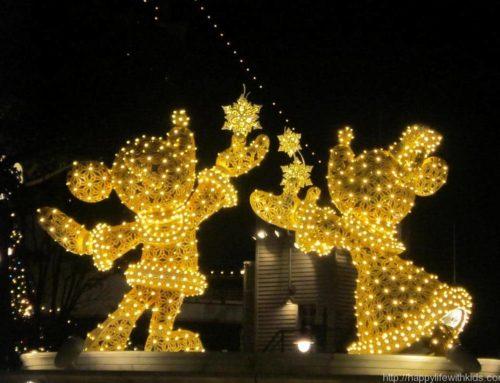 クリスマスシーズンのディズニーシー