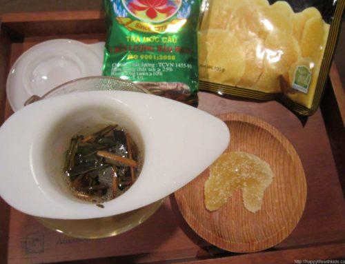 ロータスティー(蓮茶)とジンジャー(生姜)でベトナムを想う