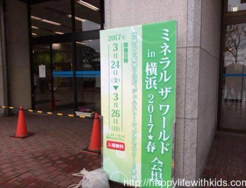 ミネラルザ・ワールドin横浜に行ってきました
